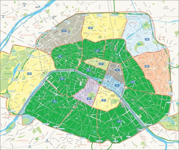 Stay in Each of the Arrondissements of Paris - Bucket List Ideas