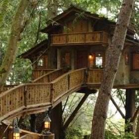 Build a Giant Treehouse - Bucket List Ideas