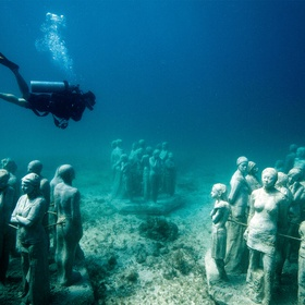See the underwater museum of art in Mexico - Bucket List Ideas