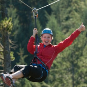 Ziplining - Bucket List Ideas