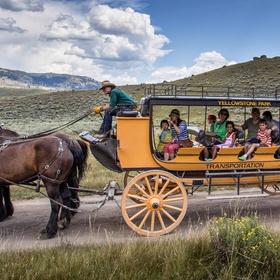 Go on a Stagecoach Ride in Yellowstone - Bucket List Ideas
