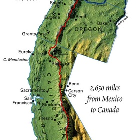 Hike Pacific Crest Trail - Bucket List Ideas