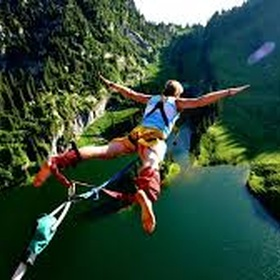 Go Bungee Jumping or Canyon Swinging - Bucket List Ideas
