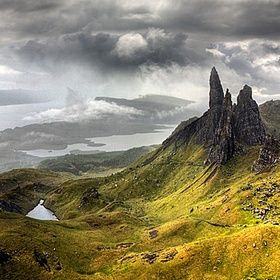 Do a charity walk on Skye (south to north) - Bucket List Ideas