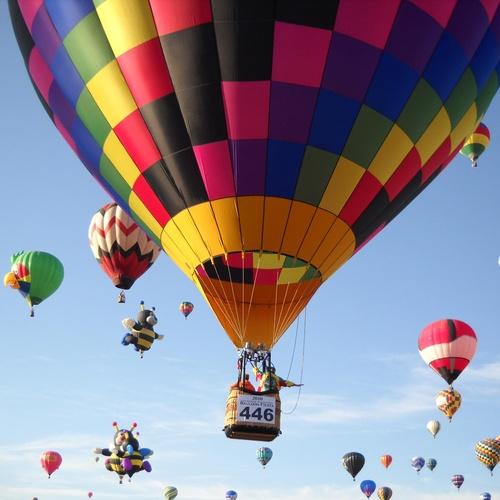 Make A Trip In A Hot Air Balloon - Bucket List Ideas