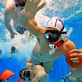⚜️Play Underwater Rugby - Bucket List Ideas