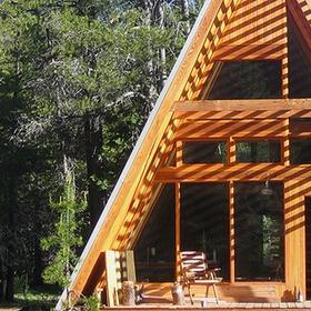 Build an A-Frame Cabin on a lake - Bucket List Ideas