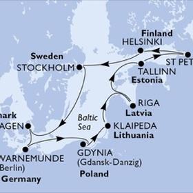 Do a ship cruise around the Baltic Sea - Bucket List Ideas