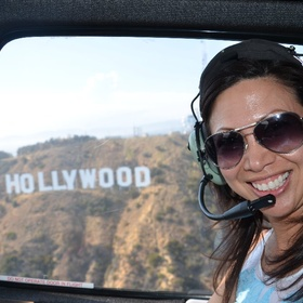 Take a helicopter tour over Hollywood - Bucket List Ideas