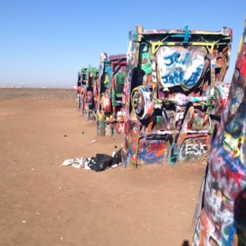 Visit Cadillac Ranch in TX - Bucket List Ideas