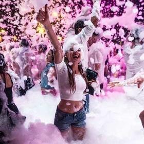 Attend a Foam Party - Bucket List Ideas
