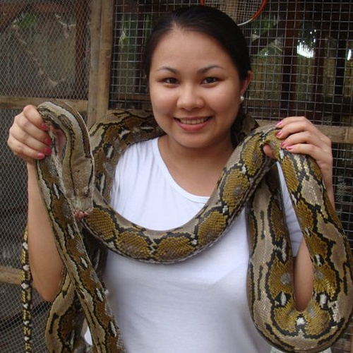 Wear a snake around my neck - Bucket List Ideas