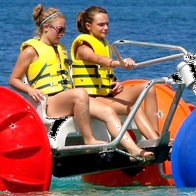 Ride a water trike - Bucket List Ideas
