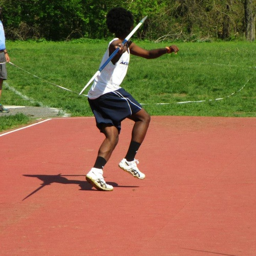 Make top 10 Javelin Thrower at my College - Bucket List Ideas