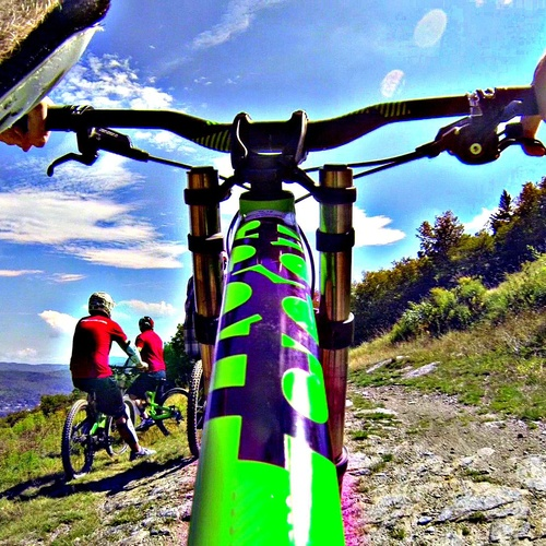 Bike Down a Mountain - Bucket List Ideas