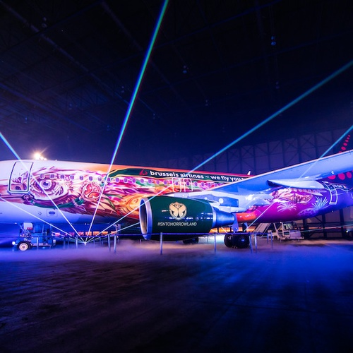 Fly with Tomorrowland - Brussels Airlines - Bucket List Ideas