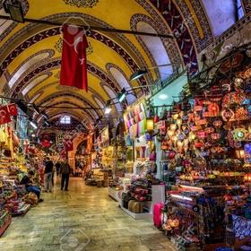 Shop at The Grand Bazaar, Istanbul, Turkey - Bucket List Ideas