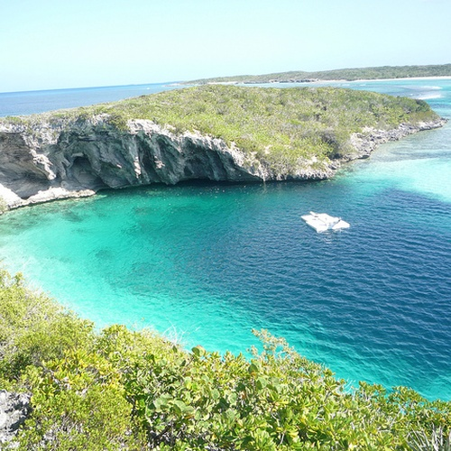 Dive the Blue Holes, Bahamas - Bucket List Ideas