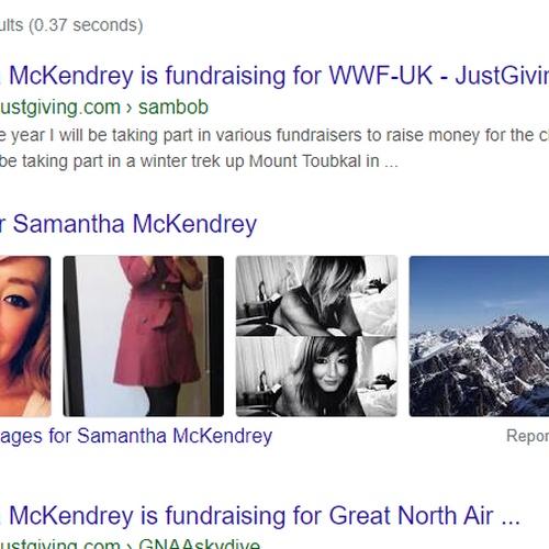 Google my own name - Bucket List Ideas