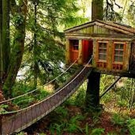 Spend the night in a treehouse - Bucket List Ideas