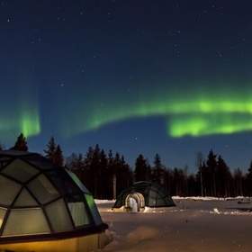 Sleep under the northen lights In an Igloo - Bucket List Ideas