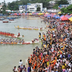 Attend Hong Kong Dragon Boat Carnival - Bucket List Ideas