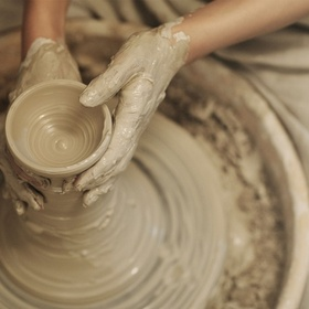 Work on a pottery wheel - Bucket List Ideas
