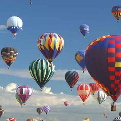 Fly in a hot air balloon - Bucket List Ideas