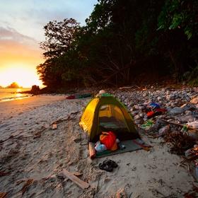 Camp directly on the beach - Bucket List Ideas