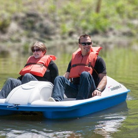 Ride a paddle boat - Bucket List Ideas