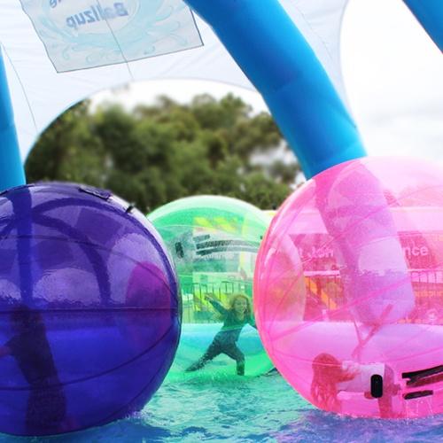 ⚜️Go Aqua Zorbing/ Sphereing - Bucket List Ideas