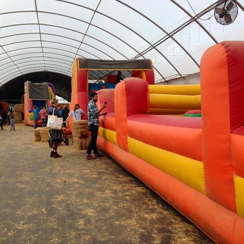 Bounce in a bouncy-house - Bucket List Ideas