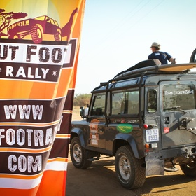 Participate in the Put Foot Rally in Africa - Bucket List Ideas
