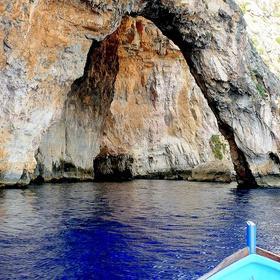 Sail down the blue cave in Malta - Bucket List Ideas