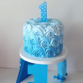 Make my sons smash cake for his first birthday - Bucket List Ideas