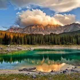 Visit Caress Rainbow Lake in Italy - Bucket List Ideas