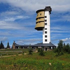 Visit Poledník Lookout Tower, Šumava - Bucket List Ideas