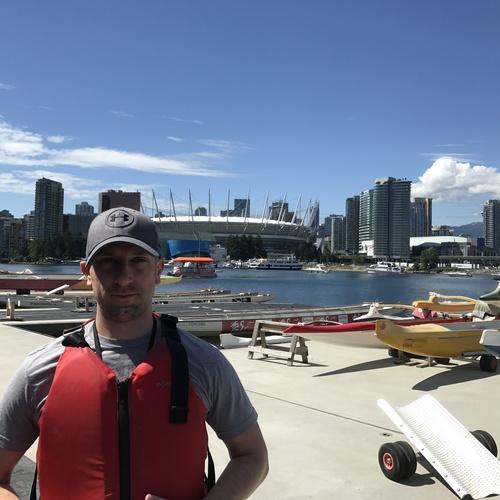 Kayaking in False Creek - Bucket List Ideas