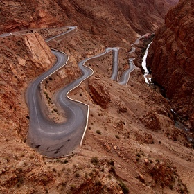 Drive on Dadès Gorges, High Atlas, Morocco - Bucket List Ideas
