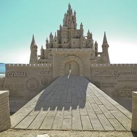 Build a Giant Sand Castle - Bucket List Ideas