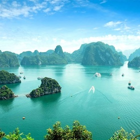 Drive a boat around Ha Long Bay, Vietnam - Bucket List Ideas