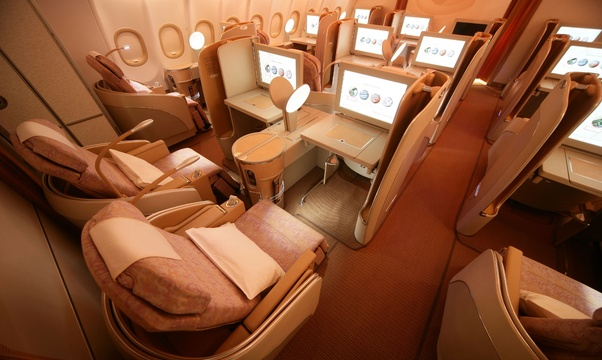 Fly First Class - Bucket List Ideas
