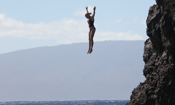 Jump off a cliff - Bucket List Ideas