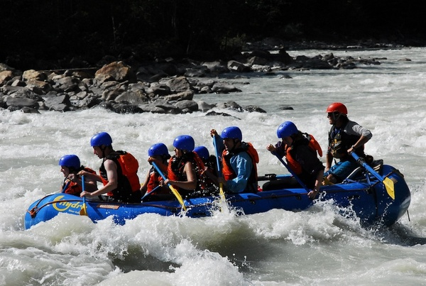 Go Whitewater Rafting - Bucket List Ideas