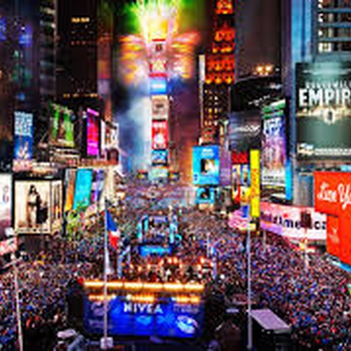 Spend New Year's Eve in Times Square - Bucket List Ideas
