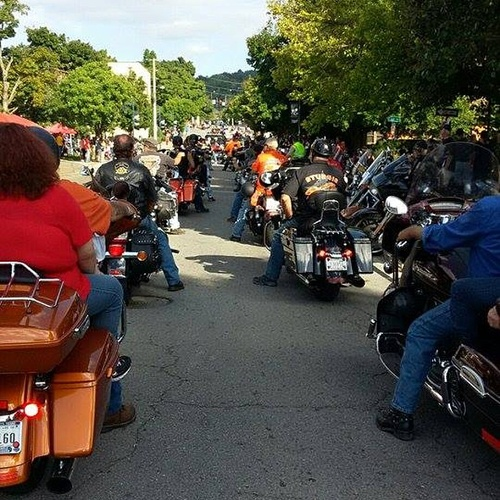 Attend a Motorcycle Rally - Bucket List Ideas