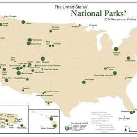 Visit all of the National Parks in the United States - Bucket List Ideas