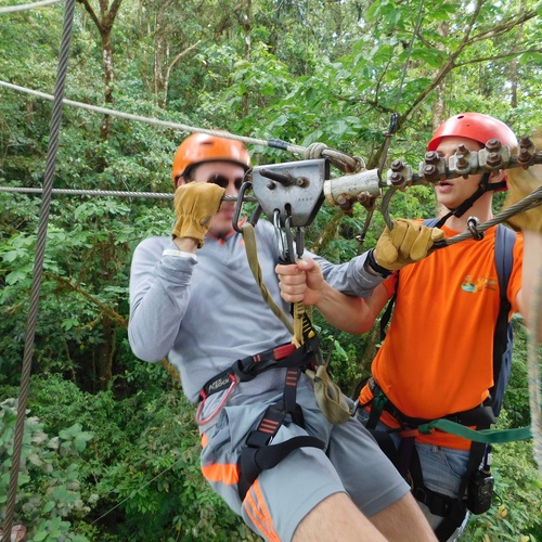 Zip Lining - Bucket List Ideas