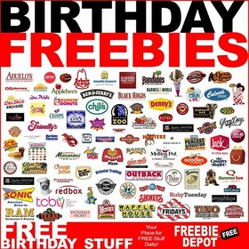 Roll around town on my Birthday an see how many freebies I can score - Bucket List Ideas