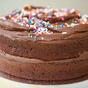 Make a cake for a disadvantaged person - Bucket List Ideas